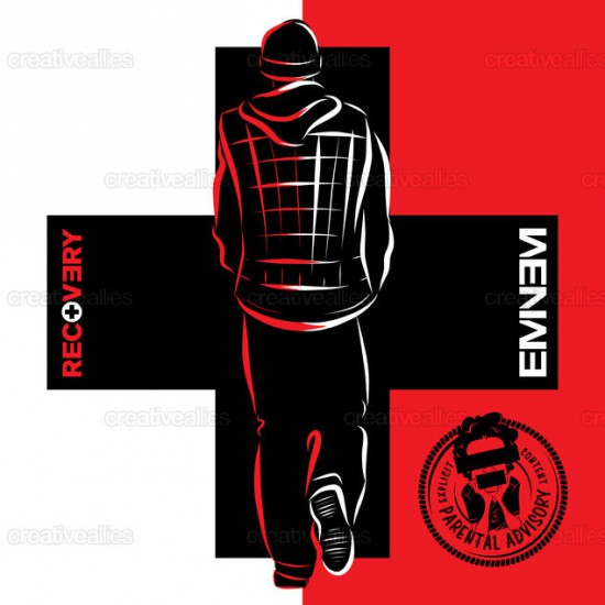 Design contest Recovery Cover for Eminem Album by cdtdesign