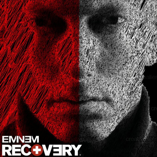 Design contest Recovery Cover for Eminem Album by wthth999