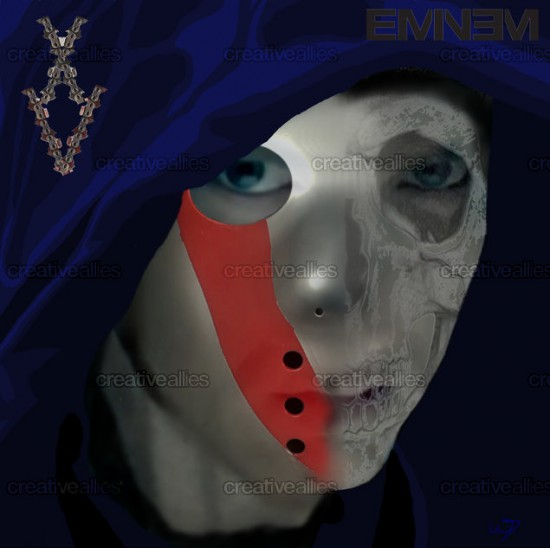 Design contest SHADYXV Cover for Eminem Album by Desy Sky
