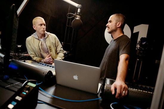 2015.06.26 - Eminem, left, with Mr. Lowe. Credit Jeremy Deputat