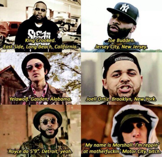 Shady Records (Ft. Eminem, Slaughterhouse & Yelawolf) – The Shady Cxvpher