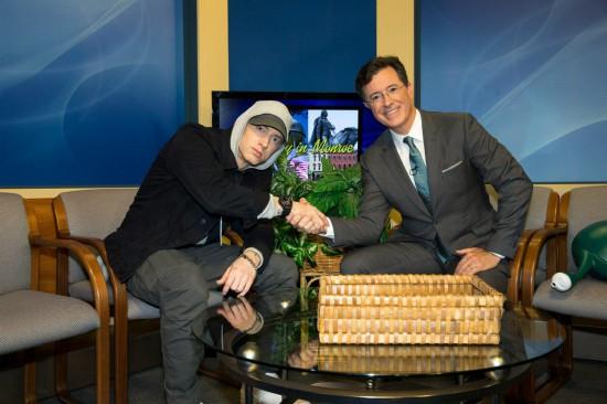Eminem_Stephen Colbert