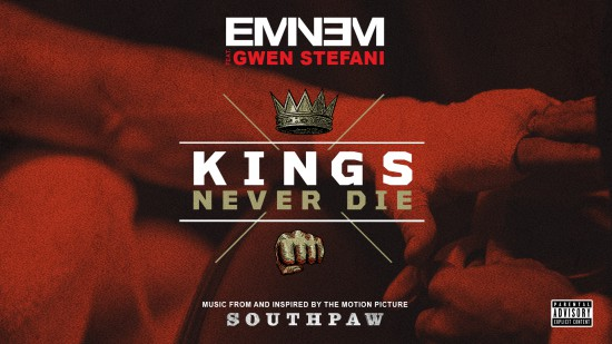 "Eminem ft. Gwen Stefani ""Kings Never Die"" [LYRIC VIDEO]"