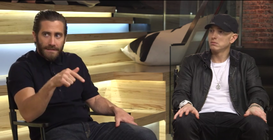 Eminem X Jake Gyllenhaal: Southpaw-сессия на YouTube Space. Раунд Второй