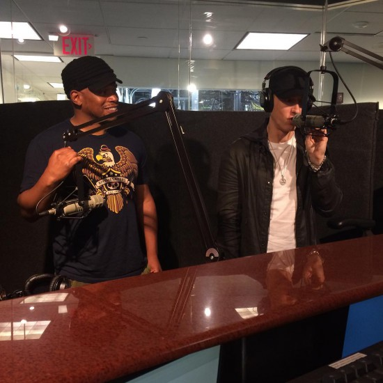 Sway Calloway and Eminem 2015 Southpaw