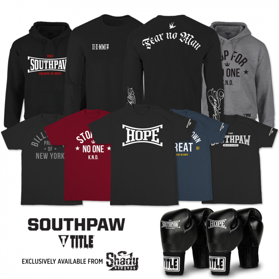 OFFICIAL SOUTHPAW MERCHANDISE AVAILABLE NOW!