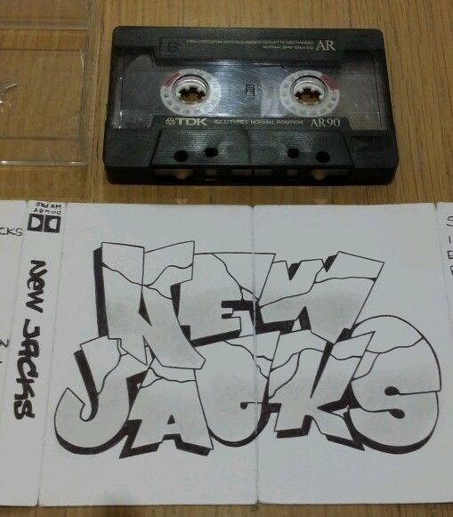 1998 Eminem New Jacks EP DJ Butter Fingers