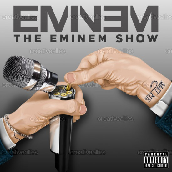 Album Cover created by: Granit E.Bunjaku Design contest: Design an Album Cover for Eminem