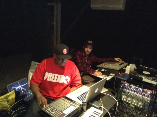 BMB SpaceKid, Dj Premier, Anderson Paak в студии, работают над Animals Dr. Dre