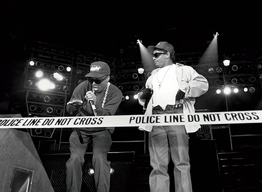 N.W.A MC Ren Eazy-E KANSAS CITY - 1989