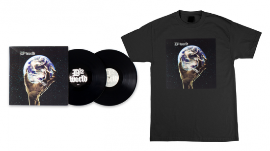 D12 World Vinyl 2LP and Album Art T-Shirt