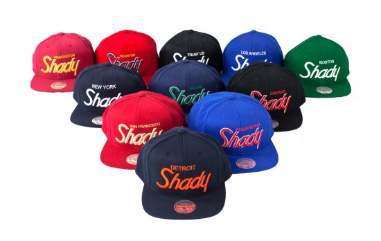 Shady Records X Mitchell & Ness