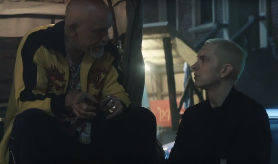 Eminem - Phenomenal (Behind The Scenes) and John Malkovich