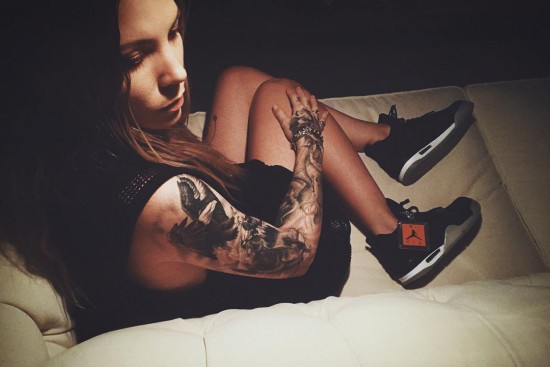 Skylar Grey x Eminem Christmas Air Jordan IV