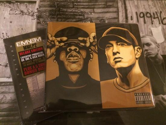 MMLP2 и CD из игры DJ Hero