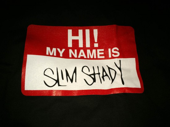Eminem MY NAME IS… 2.0 T-Shirt Shady Cyber Monday Sale 2015