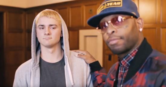 "За кажром: съёмки клипа Royce Da 5'9"" «Tabernacle»"