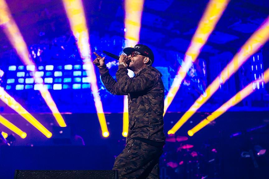 Royce Da 5'9 Lollapalooza 2016 Chile Santiago