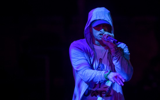 Фотографии в высоком качестве с выступления Эминема на фестивале Lollapalooza 2016 в Бразилии
