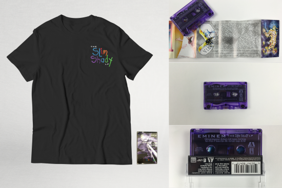 Eminem The Slim Shady LP Cassette + T-Shirt - Pre-Order