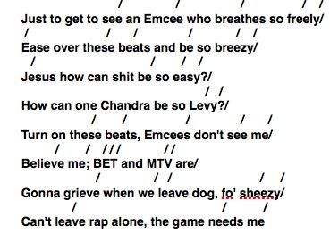 Музыкальный анализ трека Eminem'а - «Business»