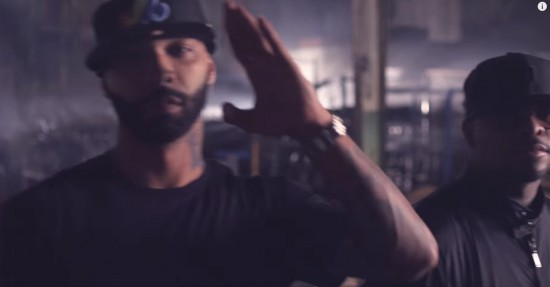 Joe Budden в клипе Bad Meets Evil Fast Lane