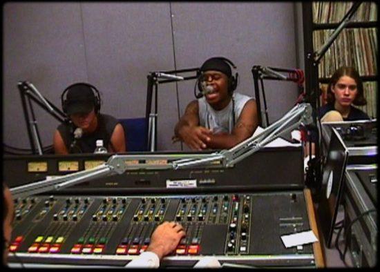 Eminem на радио-шоу Стретча Амстронга в Колумбийском Университете 1998