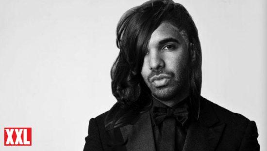 Drake с причёской, как у Rihanna