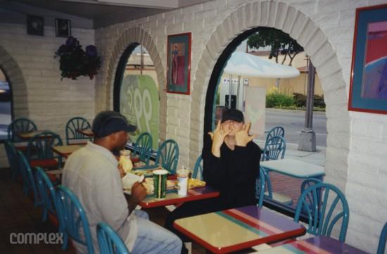 Eminem & Royce в Taco Bell. Burbank, Калифорния (Июнь 1998) Фотография Noah Callahan-Bever