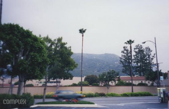 Вид с балкона Eminem'a. Burbank, Калифорния (Июнь 1998) Фотография Noah Callahan-Bever.