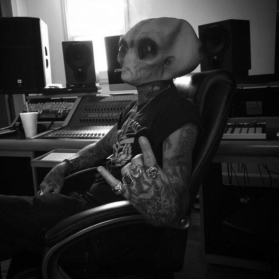 Yelawolf вернулся в Нэшвилл и засел в студии!