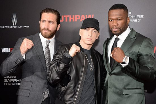 Jake-Gyllenhaal-Eminem-50-Cent-at-Southpaw-Premiere
