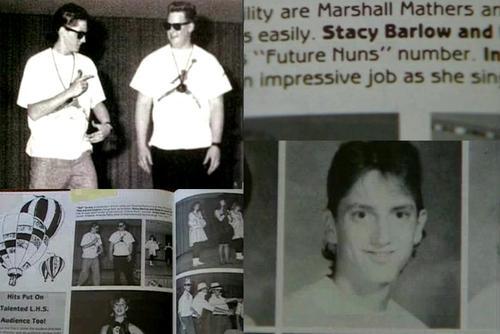Eminem в старшей школе