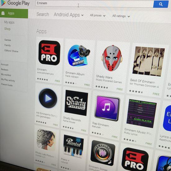Обновилось приложение «Eminem.Pro» для Android