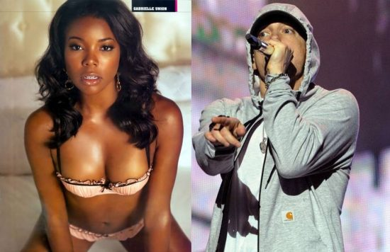 Eminem and Gabrielle Union