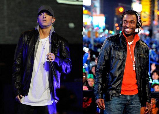 Jay Pharoah спародировал Eminem'а и Jay Z в своём фристайле