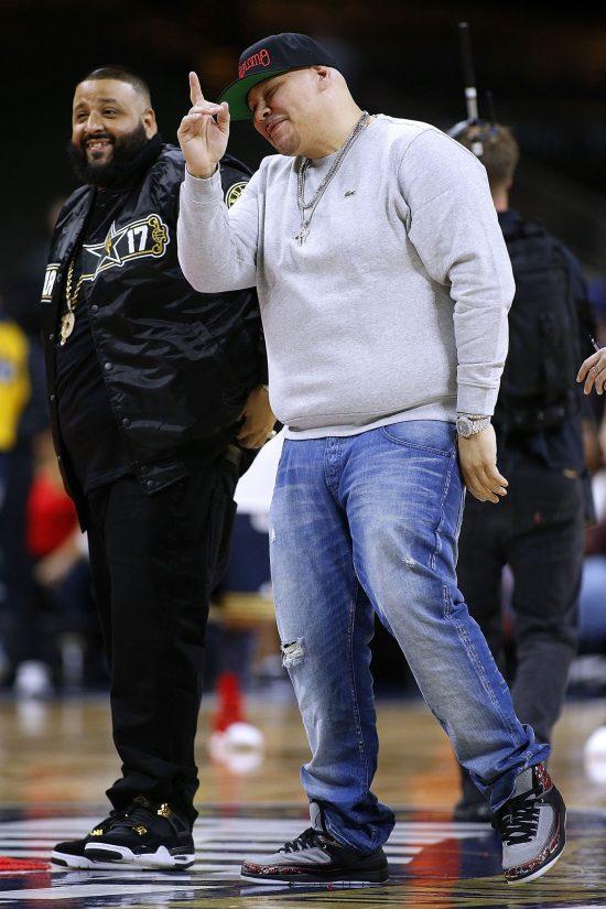 Fat Joe замечен в кроссовках «Eminem X Air Jordan 2» на Матче знаменитостей НБА