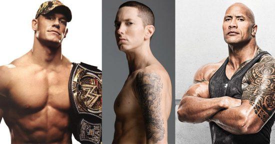 The Rock разыграл дисс на John Cena с помощью отсылки про Eminem'а