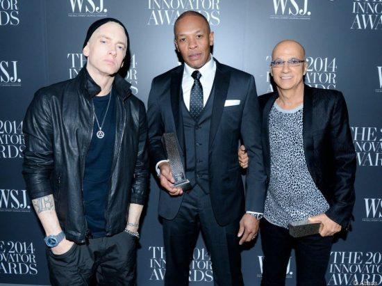 Dr. Dre, Eminem'а и Jimmy Iovine