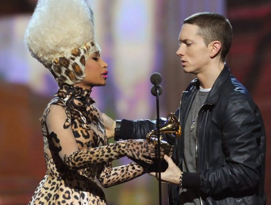 Eminem Nicki Minaj 53rd Annual GRAMMY Awards Show