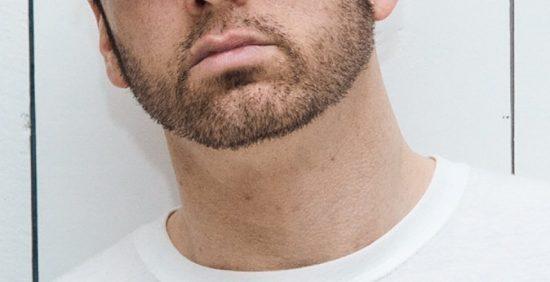 Борода Эминема крупным планом