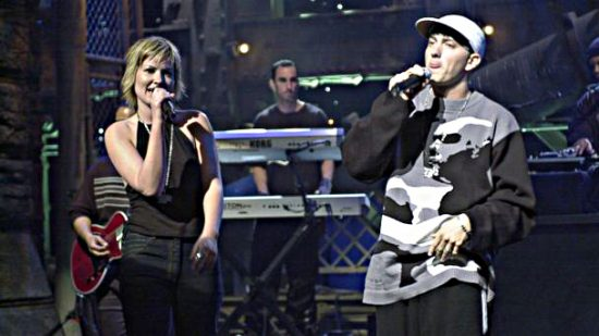 Eminem and Dido Live