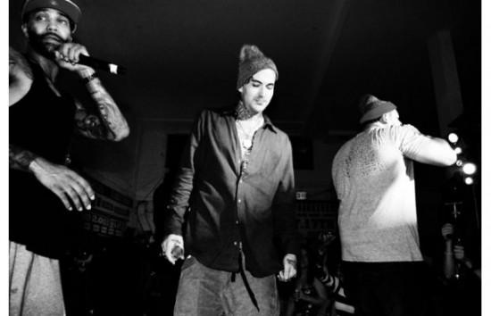 Slaughterhouse и Yelawolf live at Shady Records Brisk Bodega 2011 17 сентября