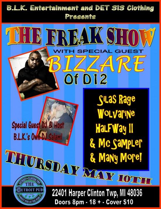 Bizzare приглашён на The Freak Show