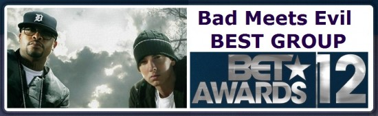 Группа Bad Meets Evil номинирована на BET Awards 2012