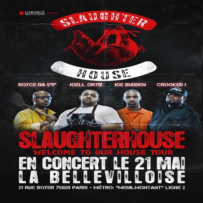 Выступление группы Slaughterhouse вПариже 21мая сосвоим хитом «MyLife»