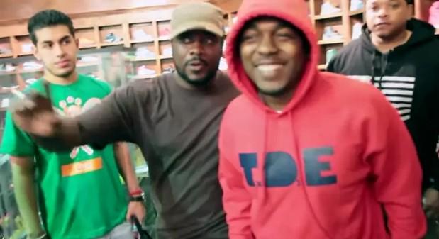 Kendrick Lamar дал интервью для GowhereHipHop