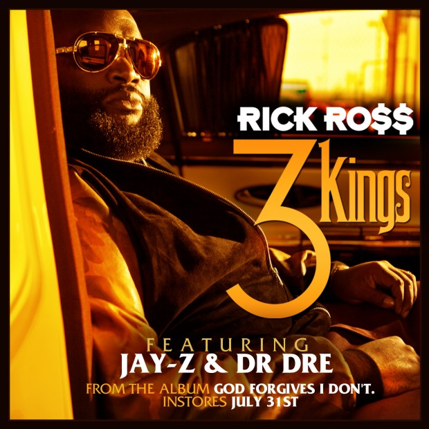 Новый трек Rick Ross ft. Dr. Dre & Jay-Z - 3 Kings