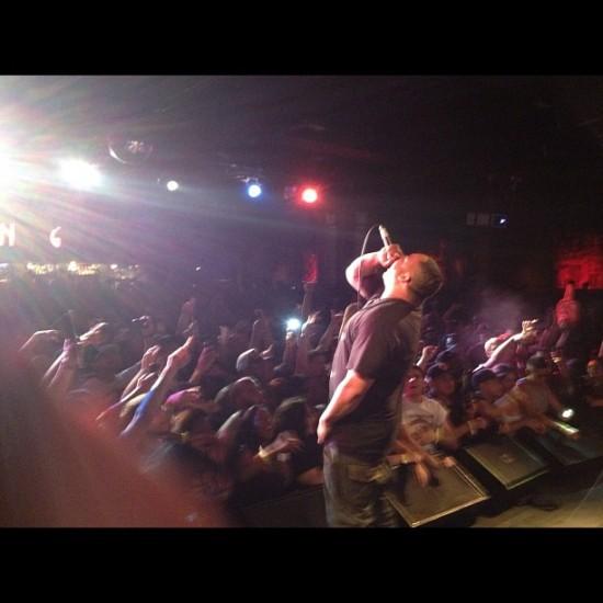 Живое выступление группы Slaughterhouse в B.B. King (12 июня 2012)