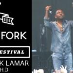 Kendrick Lamar исполнил трек «A.D.H.D» наPitchfork Music Festival 2012